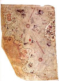 المسلمين وصلوا شواطئ أمريكا كولومبس 1226441235200px-piri_reis_world_map_01.jpg
