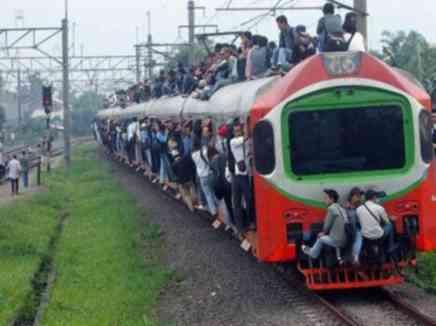 عندما يحترق القطار!!